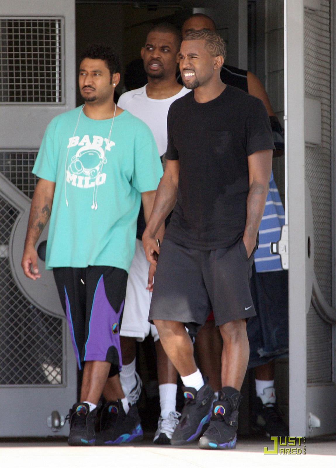 "Kanye West Air Jordan 8 ""Aqua"""