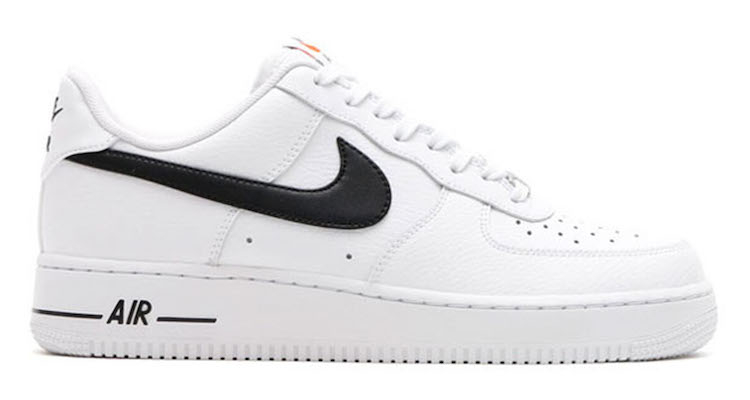 The Nike Air Force 1 Low White/Black Is