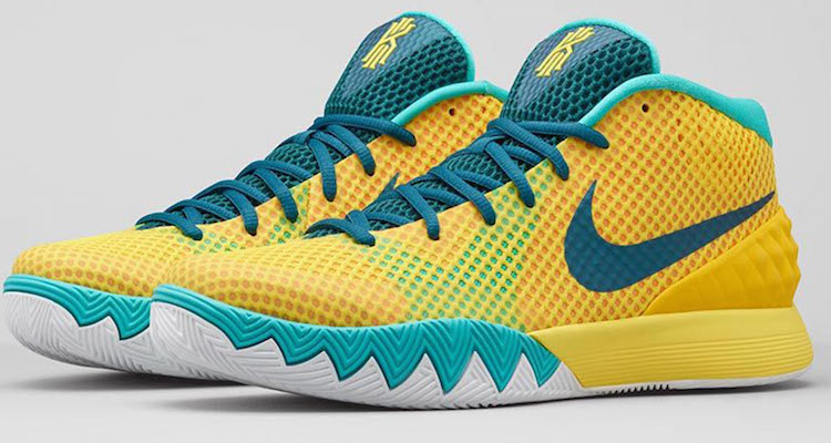 Nike Kyrie 1 Letterman Official Images & Release Date