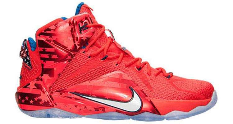 Nike LeBron 12 USA Release Date