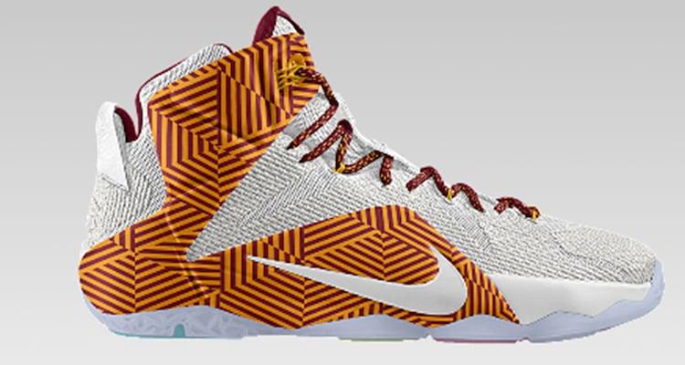 "Nike LeBron 12 ""Alternate Graphic"" iD Option"