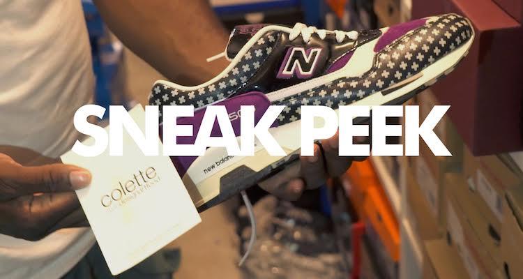 """A """"Sneak Peek"""" Inside DJ Greg Street's Sneaker Room, Part I"""