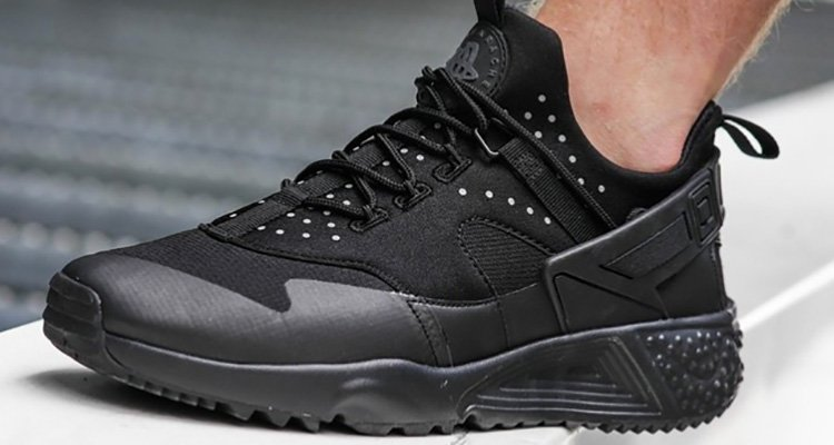 another look at the nike air huarache utility nice kicks. Black Bedroom Furniture Sets. Home Design Ideas