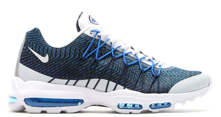 Nike Air Max 95 Ultra Jacquard Blue And White