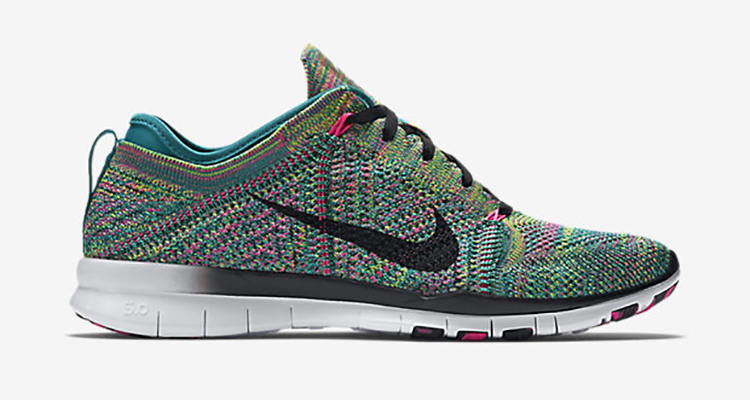 nike free 5.0 tr flyknit multicolor air