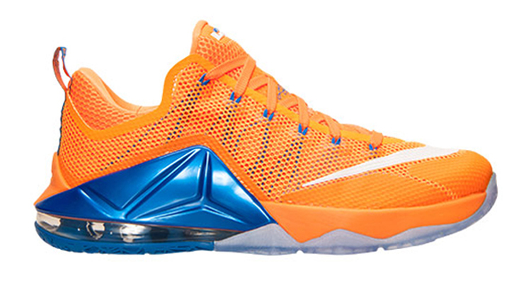 Is This Nike LeBron 12 Low a Knicks or Cavs Reference?   Nice Kicks
