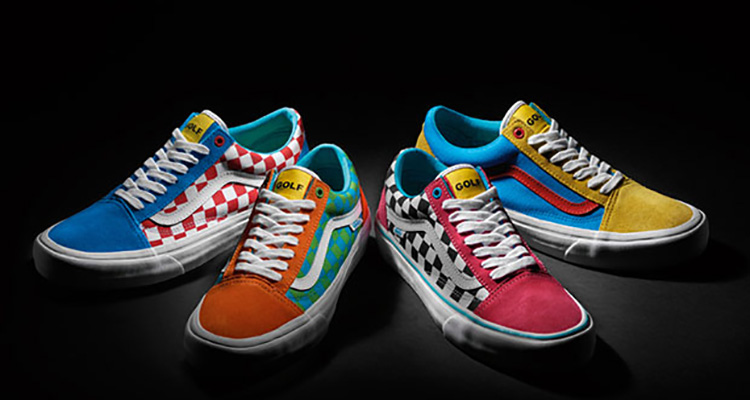 Vans Old Skool Golf Wang Projekt Fliedergartende