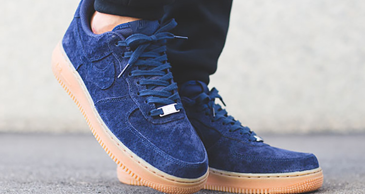 nike air force one low blue