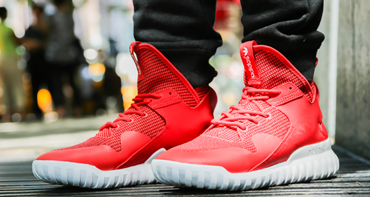Adidas Tubular X Red And Black