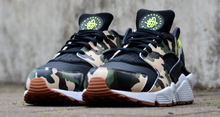 Atmos Inspiration Graces Nike Air Huarache Custom