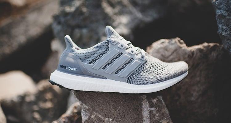 Adidas Ultra Boost On Feet Grey