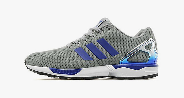 Adidas Zx Flux Grey And Silver