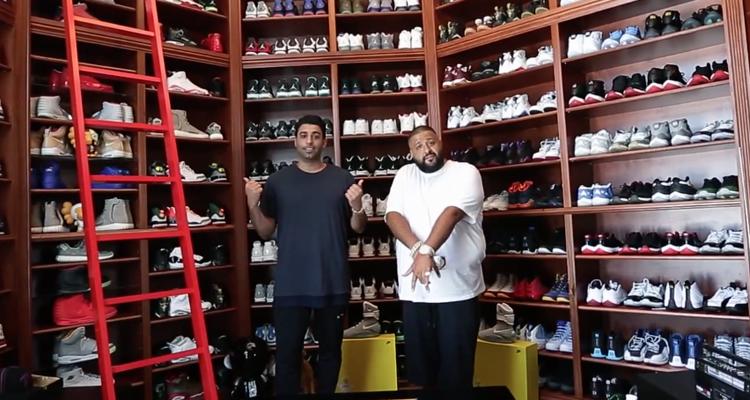 DJ Khaleds Sneaker Closet Has Expanded