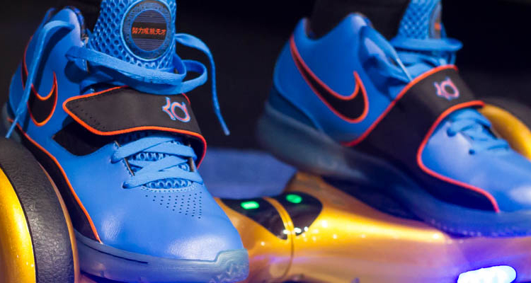 """The Best Sneakers Worn at """"Childhood Obesity Month"""" Kick & Roll Open Gym in Dallas"""