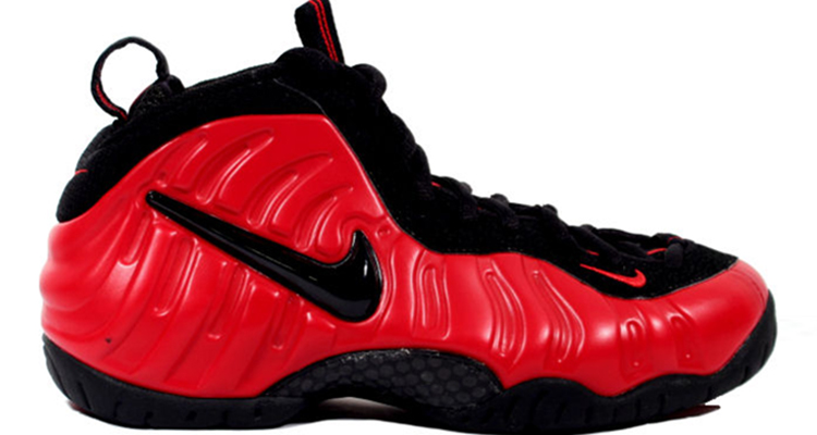 A First Look at the Nike Air Foamposite Pro Red/Black Retro | Nice Kicks