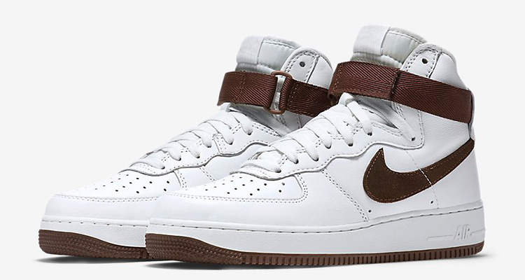 nike air force 1 high og chocolate