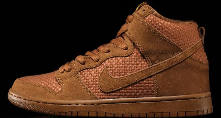 Nike SB Dunk High Brown Ale