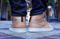Air Jordan 1 Pinnacle Vachetta Tan On-Foot Look