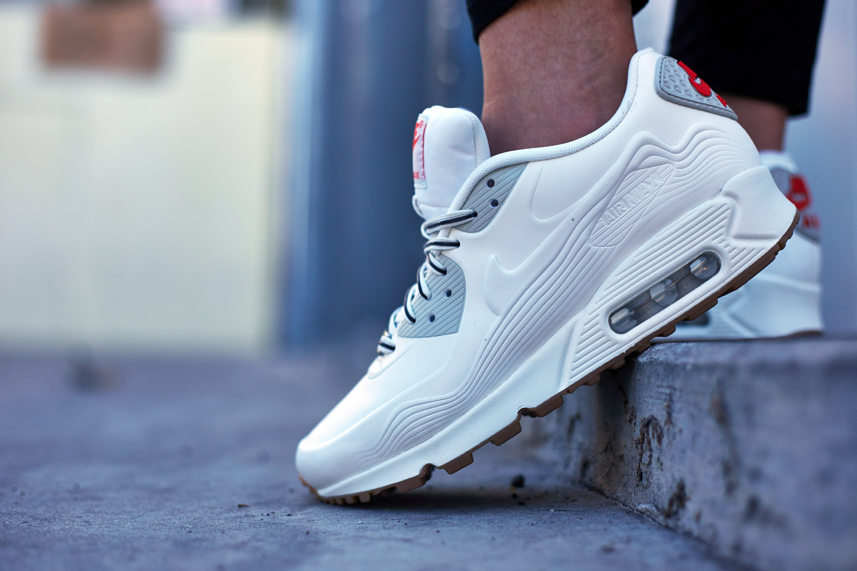 Nike Air Max 90 White Outfit