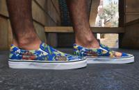 Disney x Vans Slip-On Jungle Book On Foot Look