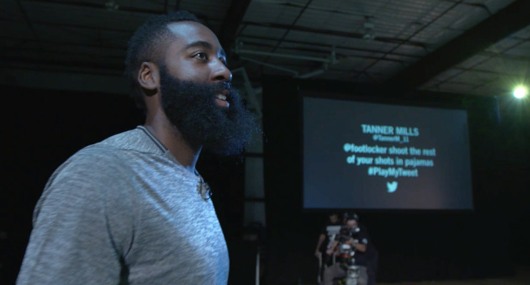 James Harden Style Interview
