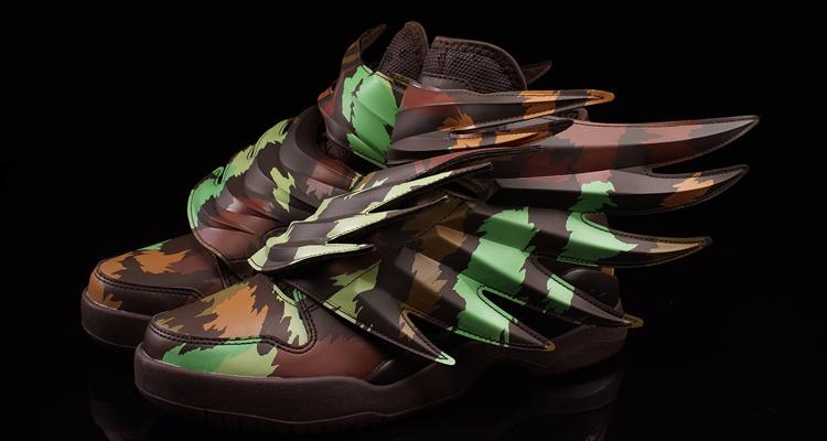 Jeremy Scott x adidas Wings 3 Camo