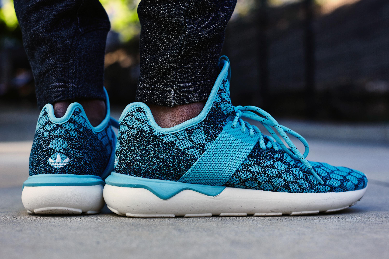 adidas Tubular Primeknit On-Foot Look