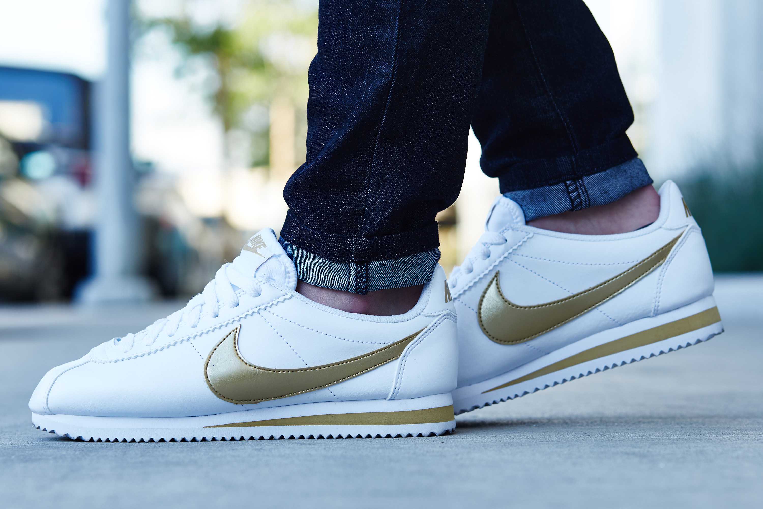 Nike Cortez On Feet