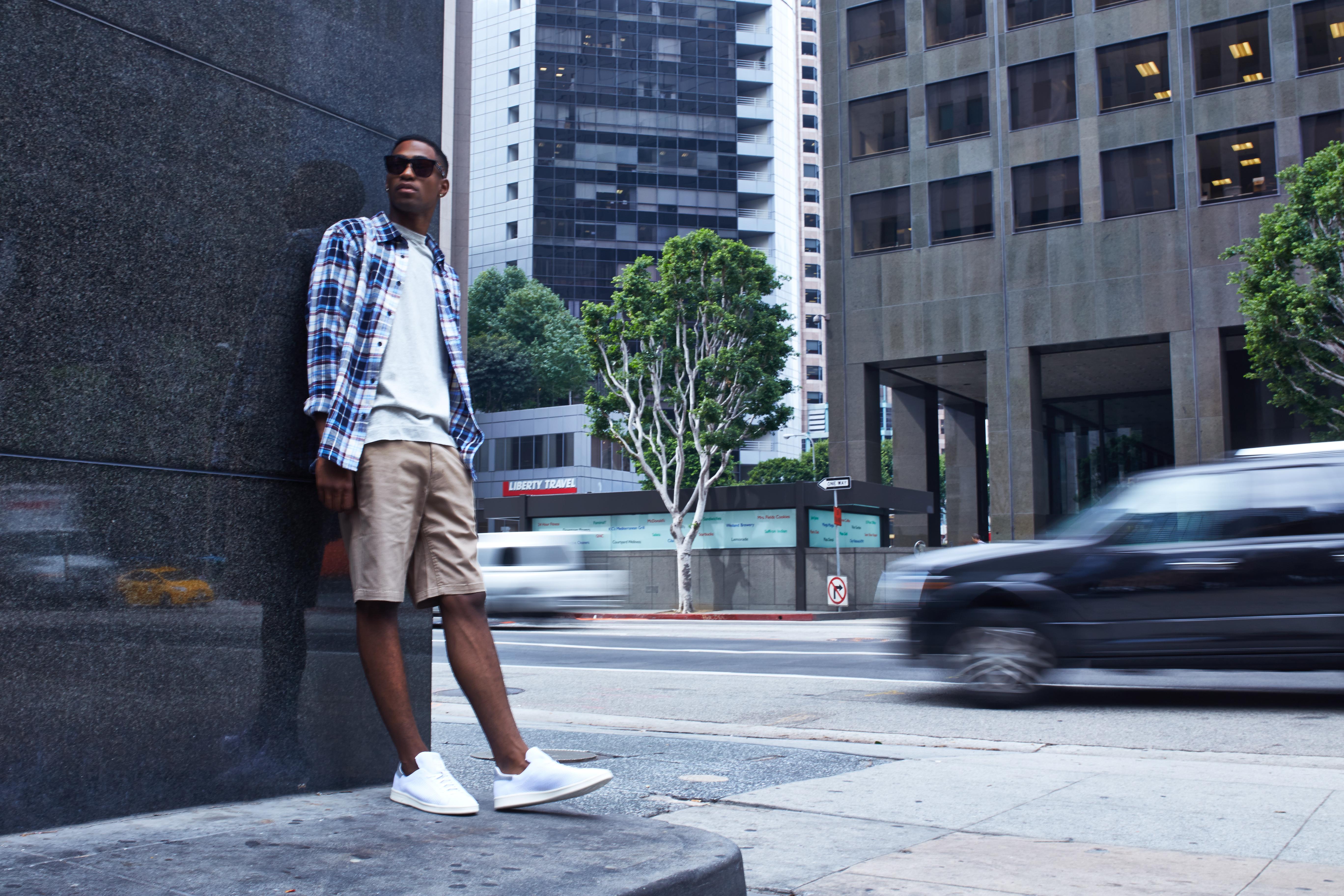 adidas Stan Smith Primeknit On-Foot Look