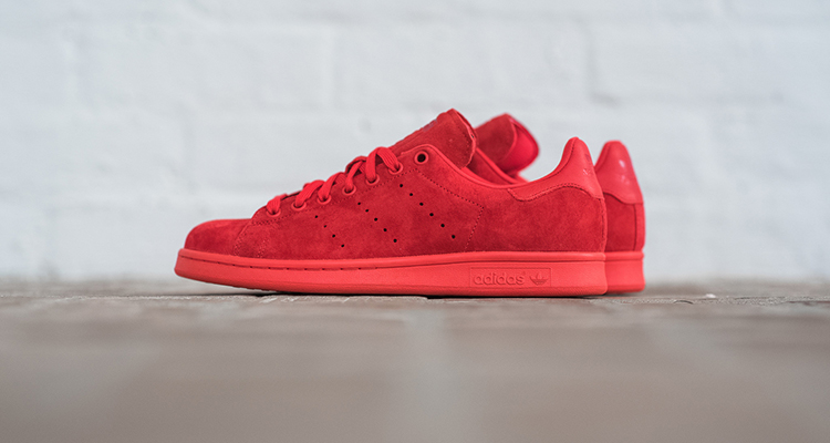 all red stan smith adidas