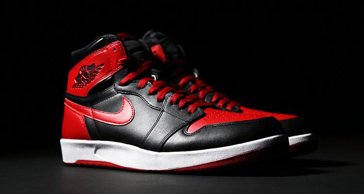 air jordan black and red
