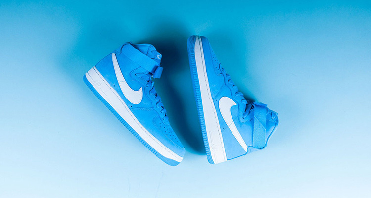 baby blue nike air force 1
