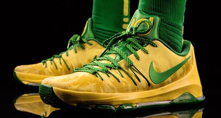 ... Nike KD 8 Oregon Ducks PE  3cf78c6146