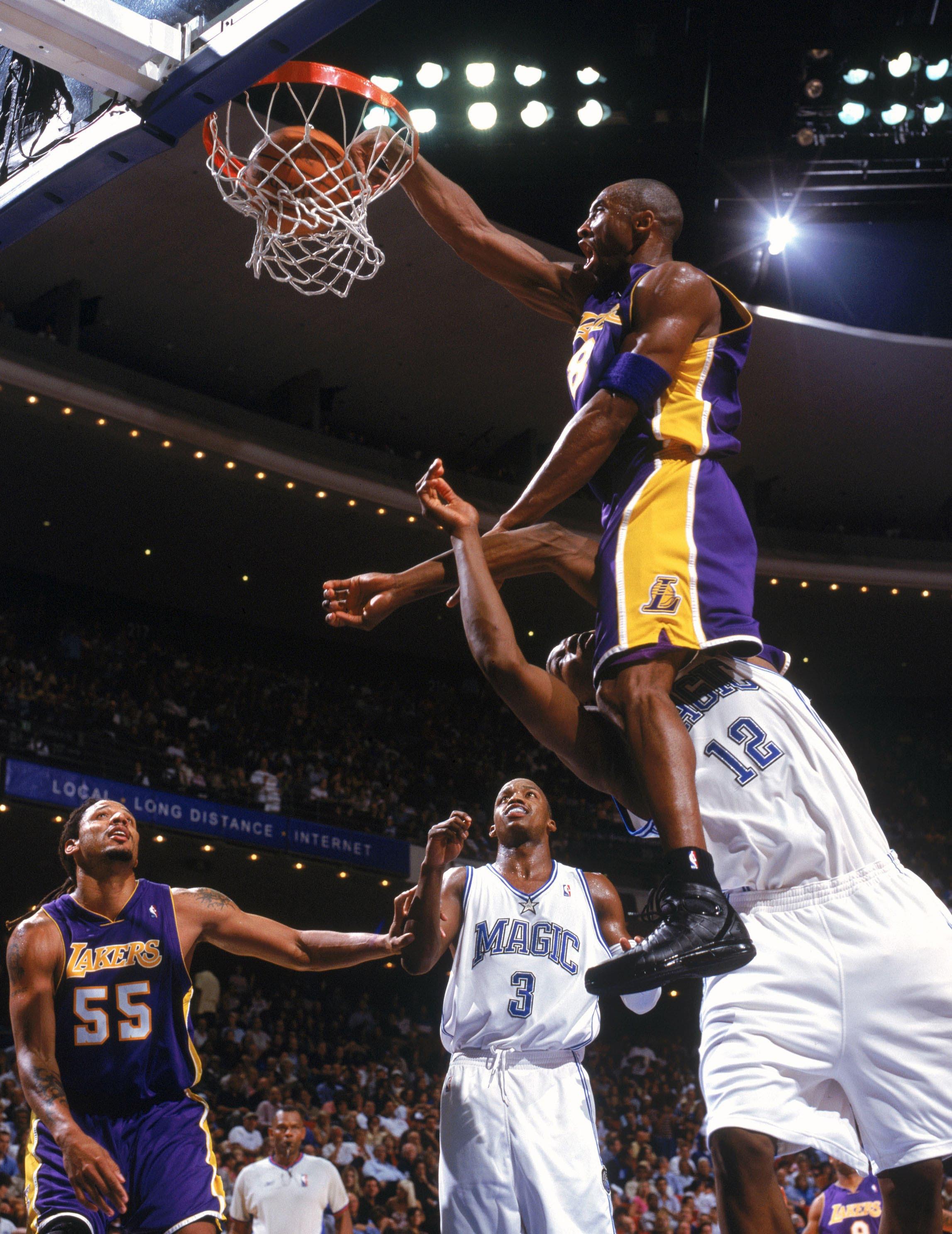 2004 Kobe Dwight 2K4 Dunk