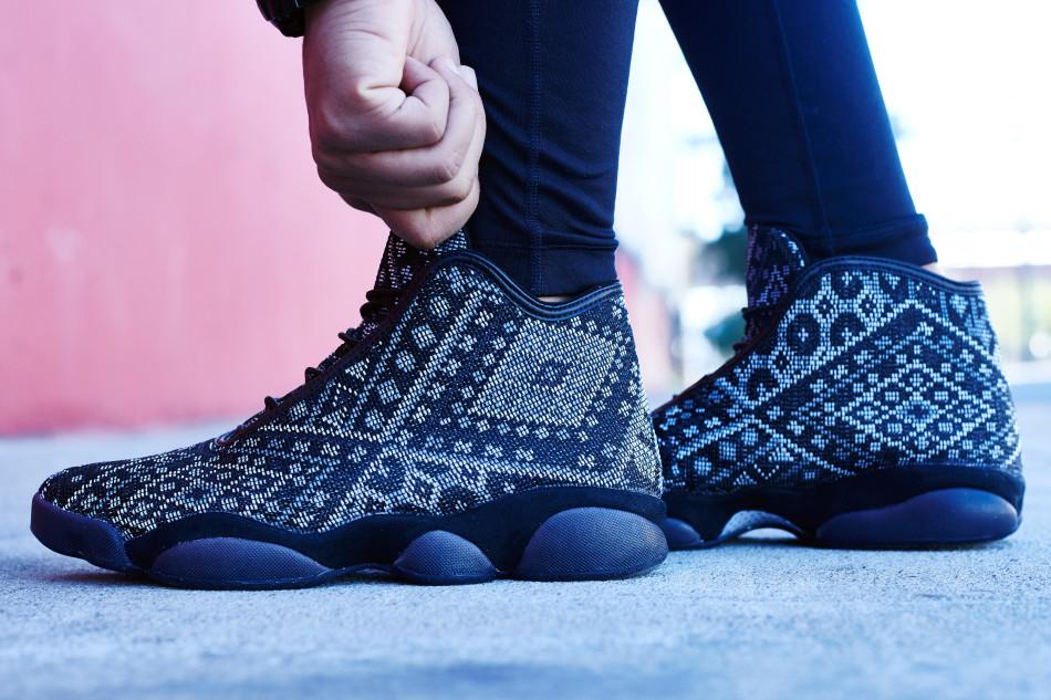 on foot look  public school x jordan horizon nice kicks