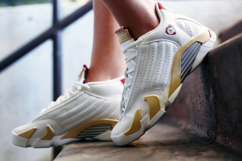 On-Foot Look // Air Jordan 14 \