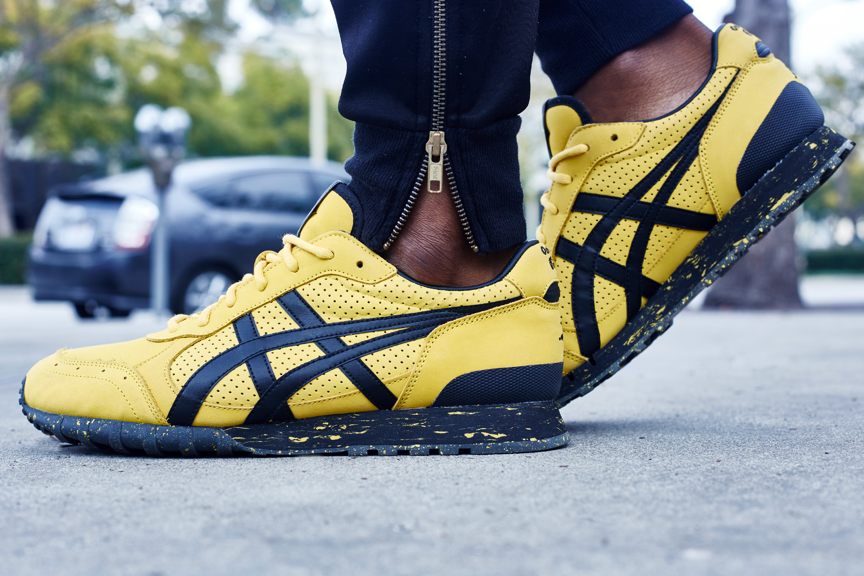 BAIT x Onitsuka Tiger x Bruce Lee Colorado 85 Legend On-Foot Look