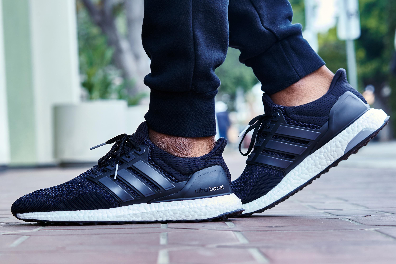 Foot Look // adidas Ultra Boost Black