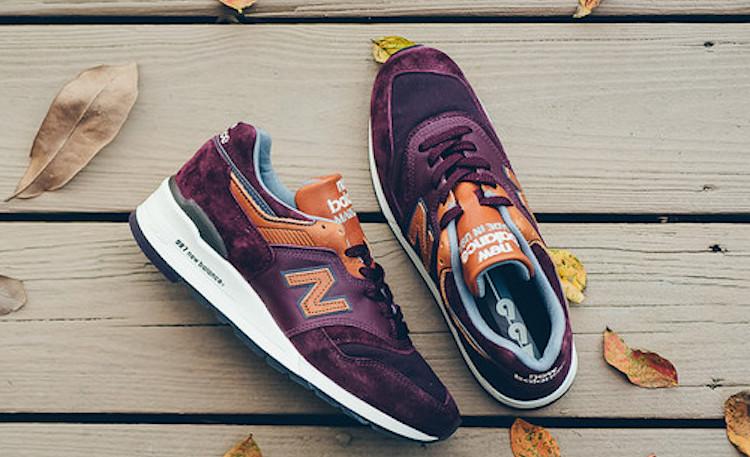 new balance 997 marron
