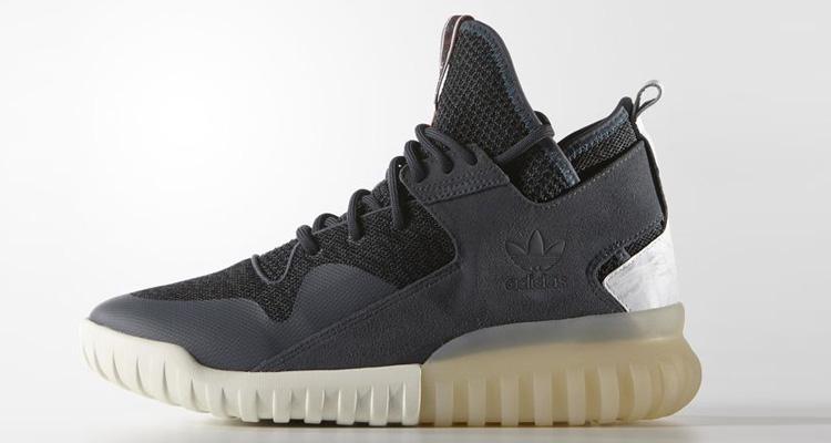 Adidas Tubular X Primeknit Shoes S76713 In Night Cargo/Core Black