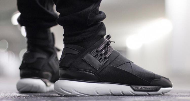adidas y3 qasa high on feet