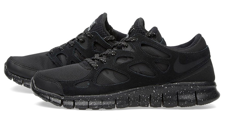 nike shox rabais pour les hommes - Nike Free Run 2 PRM Black/Metallic Pewter | Nice Kicks
