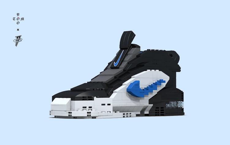 LEGO Nike Air Max Penny 1 by Tom Yoo 23