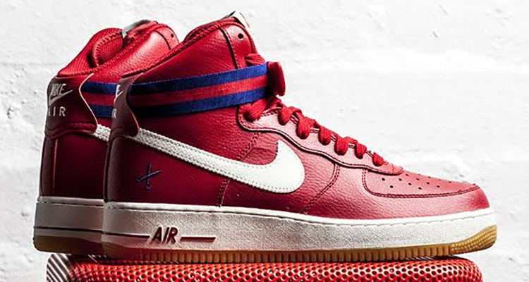 This Nike Air Force 1 High Is All About Cutting Down The Nets