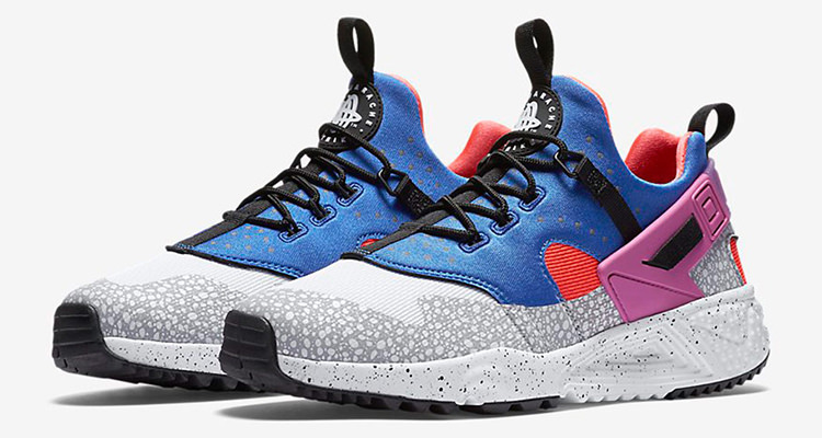 The Nike Air Huarache Utility Gets a 90's Inspired Color Update | Nice Kicks