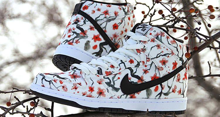 nike dunk sb cherry blossom