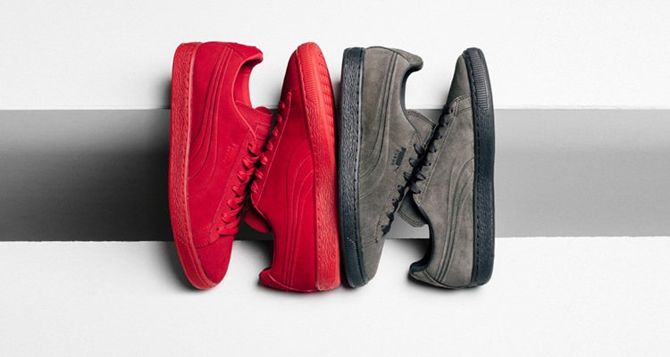 Puma Suede Embossed Iced