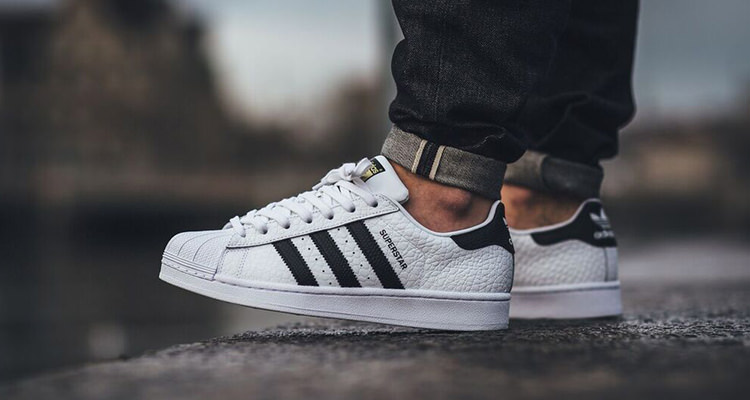 adidas Superstar Boost Black White Condito