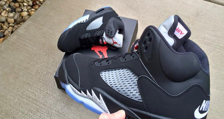 nike store locator id - The Air Jordan 5 Black/Metallic With Nike Air is Coming This ...