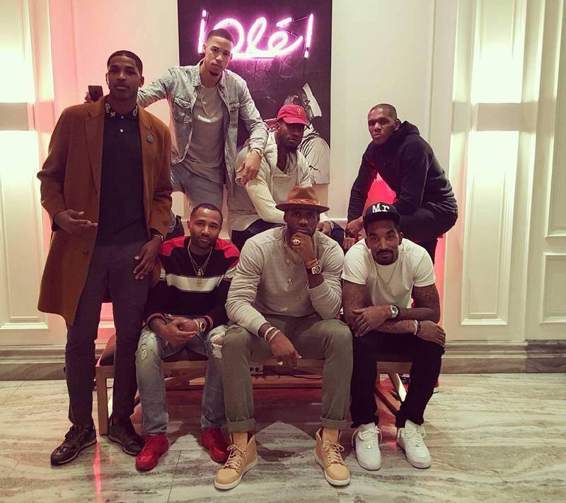 "LeBron James in the Air Jordan 1 Pinnacle ""Vachetta Tan"""
